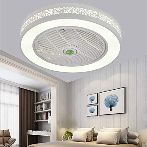Deckenventilator Mit Beleuchtung LED Windgeschwindigkeit Dimmbar Deckenleuchte Mit Fernbedienung 72W Leise Wohnzimmer Schlafzimmer Kinderzimmer Esszimmer Ventilator Lampe Deckenlampe