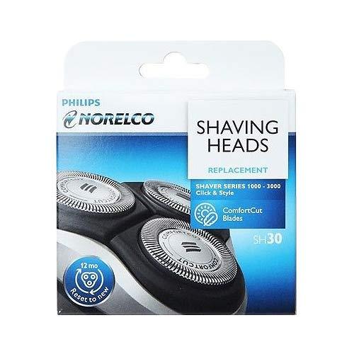 SH30/52 - Cuchillas de repuesto para cabezales de afeitado Philips para las series 3000, 2000, 1000 y S738 (nuevo) (un paquete)