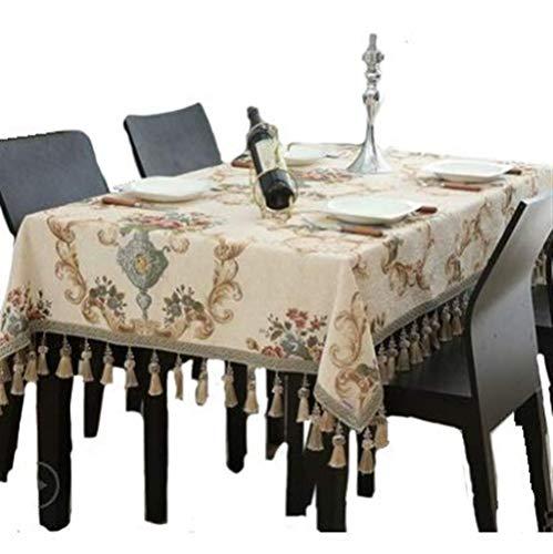 Kunyi Planta americana moderna fresca pequeña hermoso brillante Multi-uso nunca se descolora rectangular sala de mesa de café de tela del paño estera de tabla Mantel (Size : 60x60cm)