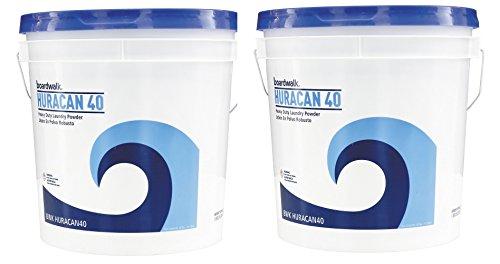 Boardwalk HURACAN40 Low Suds Laundry Detergent, Powder kzsDpS, 2 Pack (40lb (40 lb. Pail)
