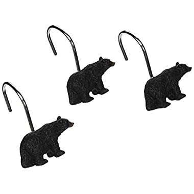Avanti Black Bear Lodge Shower Hooks
