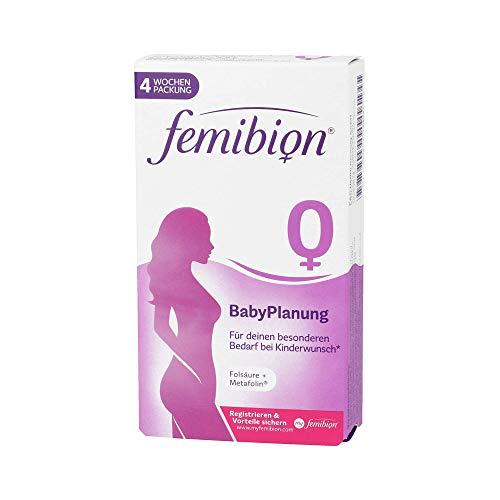 P&G Health Germany FEMIBION 0 Babyplanung Tabletten, 28 Stück