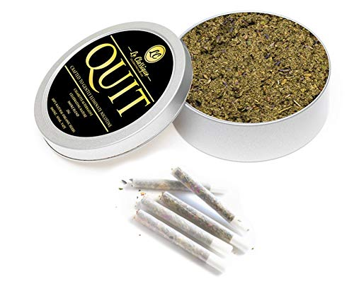 Tobacco Alternative, Le Classique Herbal Smoke Blend 100% Nicotine Free, Can Be Smoke, Vape Or Pipes, Loose Herb 35g (QUITY)