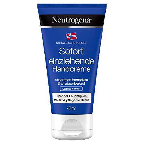 Neutrogena sofort einziehende Handcreme, Leichte Formel, 75 ml