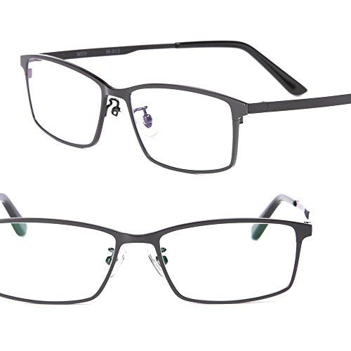 ミディの洗練スマホ老眼鏡 (チタン/シャープスクエア) / 「+0.5」の老眼鏡 レンズ度数?1.0でも強いと感じる老眼鏡ユーザーに / 老眼鏡 0.5 拡大鏡 リーディンググラス シニアグラス ブルーライトカット オシャレ おしゃれ メンズ (m312,