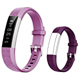 BIGGERFIVE Fitness Tracker Watch for Kids Girls Boys Teens, Activity Tracker, Pedometer, Calorie Counter, Sleep Monitor, Silent Alarm Clock,IP67 Waterproof Step Counter Watch, Great Kids Gift