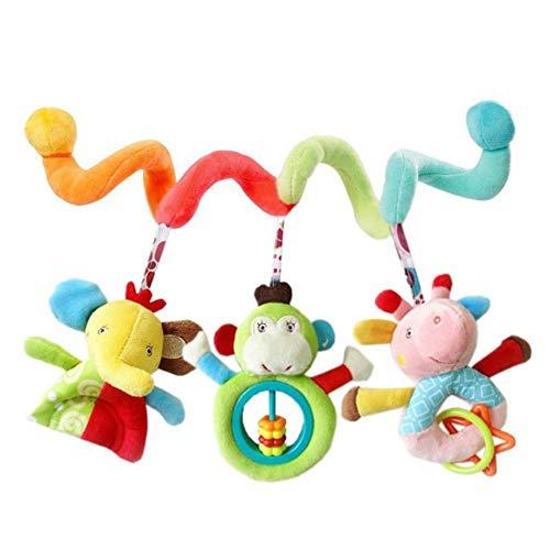 Spirale Spielzeug Kinderwagen Spielzeug Bett Hängen Spielzeug Baby Autositz Spielzeug Baby Aktivität Pädagogische Plüschtier