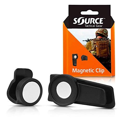 Source Tactical Clip magnético, Hombre, Negro, Talla Única