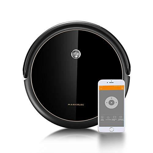 Aspirapolvere Robot, Connessione Wi-Fi, Alexa e App Control, Mappatura Sistema, GRYO Navigazione, 6 Modalità di Pulizia, Ideale per Proprietari di Animali Domestici, Pavimenti e Tappeti