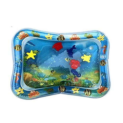 Liadance Giocattolo di Gioco dell'Acqua, Giocattoli sensoriali gonfiabili del Bambino Giocattoli dei Giocattoli del Gioco dei Bambini per Neonati e Bambini Blu