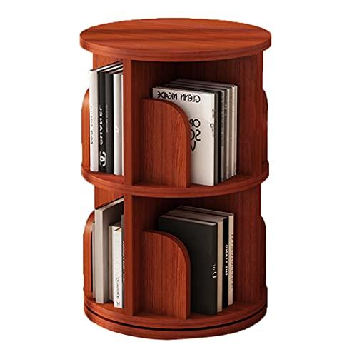 Eenvoudige boekenplank draaibare thuis woonkamer kinderboekenplank grote capaciteit en ruimtebesparende boekenplank 360…