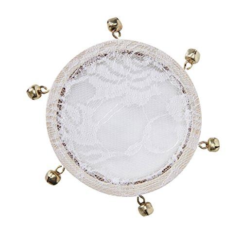 Ginger Ray Mini-Tamburine, 5 Stück, Konfetti-Alternative für Partys und Hochzeiten, schöne Botanik