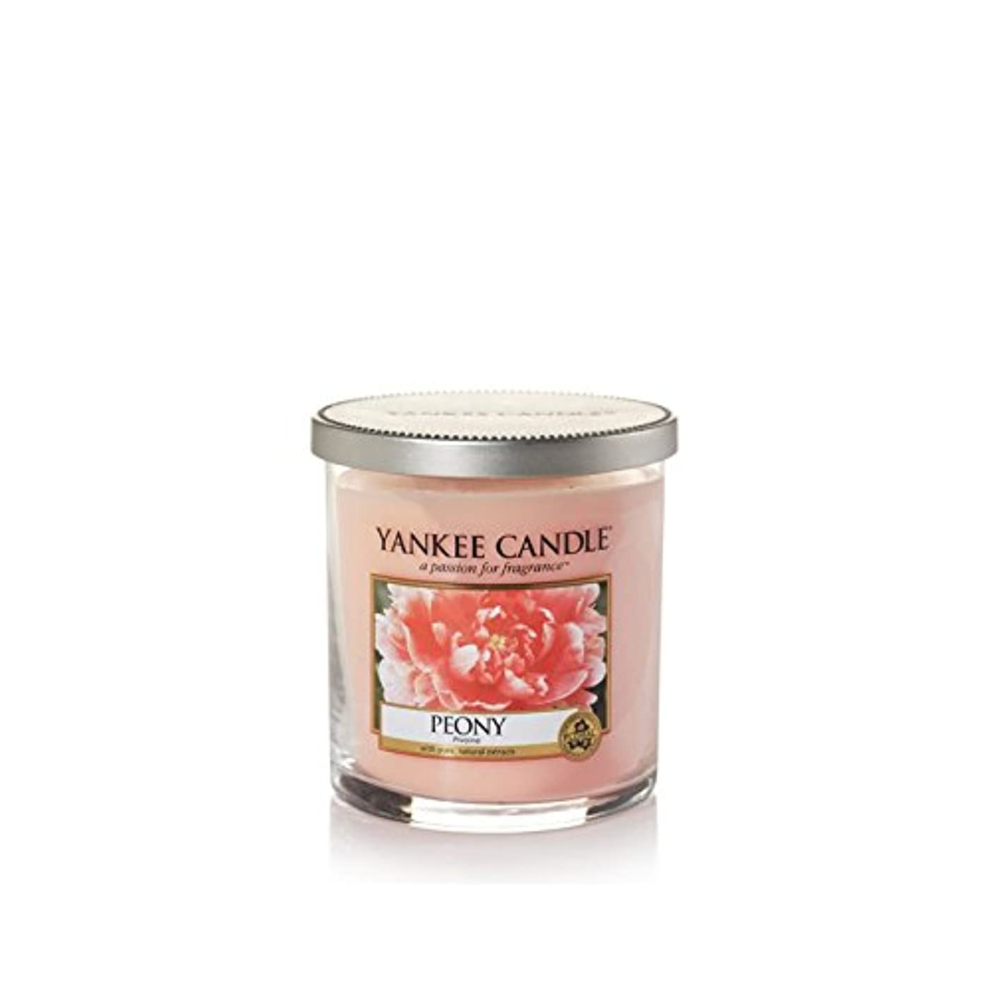 誕生日直径ピースYankee Candles Small Pillar Candle - Peony (Pack of 6) - ヤンキーキャンドルの小さな柱キャンドル - 牡丹 (x6) [並行輸入品]