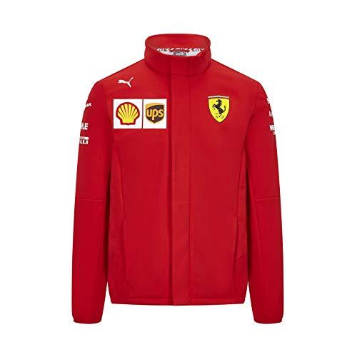 PUMA Herren Scuderia Ferrari Team Softshelljacke, Rosso Corsa, M