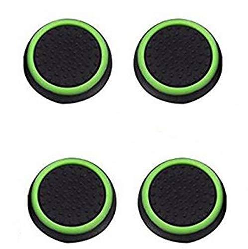 Canamite Daumengriffe, für PS4 / PS3 / Xbox One / Xbox One / S / Xbox 360 / 4 Stück, grasgrün
