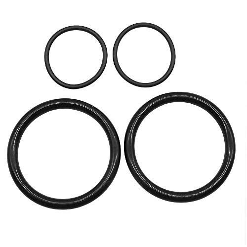 KingFurt 4x O-Ring Dichtung Für 3er E46 E90 E46 Magnetventil Steuerventil 11367506178