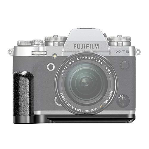 Neewer Sostituzione per GB-XT3 Piastra a Sgancio Rapido Staffa L MHG-XT3 per Fotocamera Fujifilm Mirrorless X-T3 Impugnatura in Lega di Alluminio