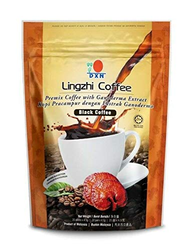 DXN Lingzhi Black Coffee Ganoderma Pack 20 Sachets Max 77% Ranking integrated 1st place OFF 3