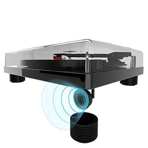 AUNA TT-Classic BK - Platine Vinyle , Tourne-Disque , entraînement par Courroie , Port USB pour la...