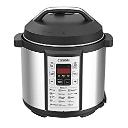 Cosori 7-in-1 Multi-Functional Pressure Cooker with Glass Lid and Sealing Ring, 6Qt / 1000W Review