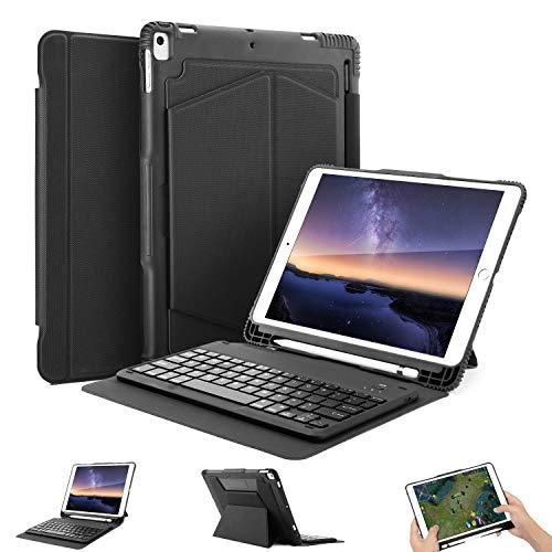 OMOTON Funda con Teclado para iPad 10