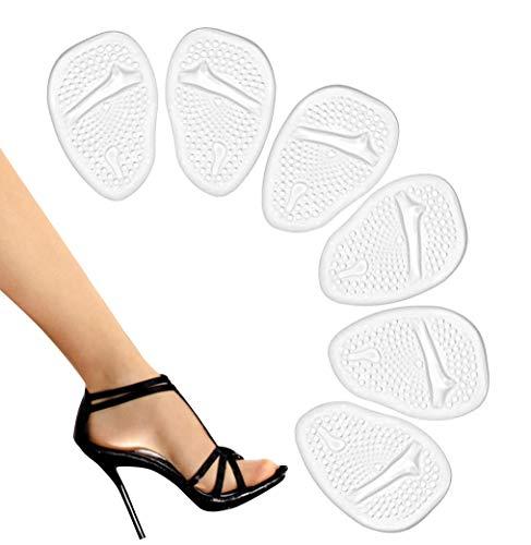 Metatarsal Pads-High Heel Cushion-Forefoot Pad-Non Slip Shoe Inserts-Ball of Foot Pads-Metatarsal Cushion