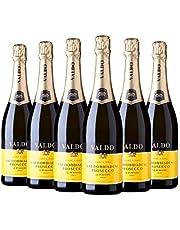 Valdo Marca Oro Valdobbiadene Prosecco Superiore Extra Dry DOCG [ 6 Botellas x 750ml ]