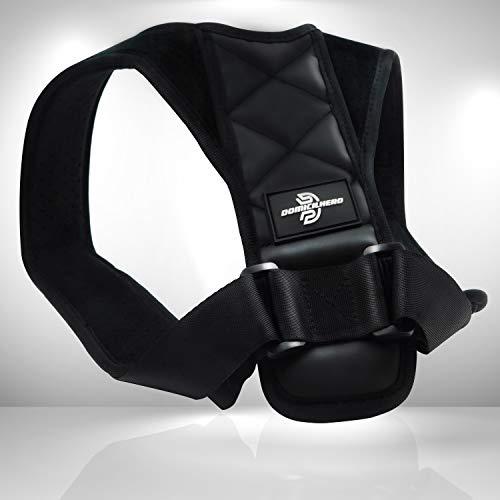 DOMICILHERO® Rücken Geradehalter für eine aufrechte Haltung - Haltungskorrektur