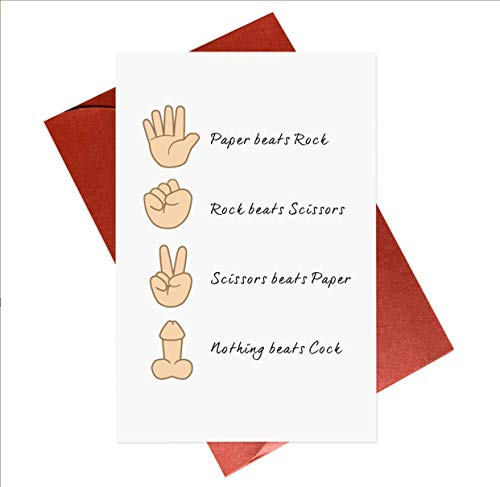 Funny Rude Birthday Card,Naughty Cheeky Card For Boyfriend,Girlfriend,Female Friend,Gay,Lgbt