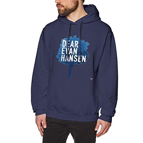fenglinghua Sudaderas de Hombre hainanqing WilliamBurton Dear Evan Hansen Printed Hoodies Sweatshirts for Men Women Unisex Pullover Hooded Shirts Baseball tee Tops