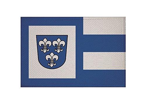U24 Aufnäher Beverungen Fahne Flagge Aufbügler Patch 9 x 6 cm