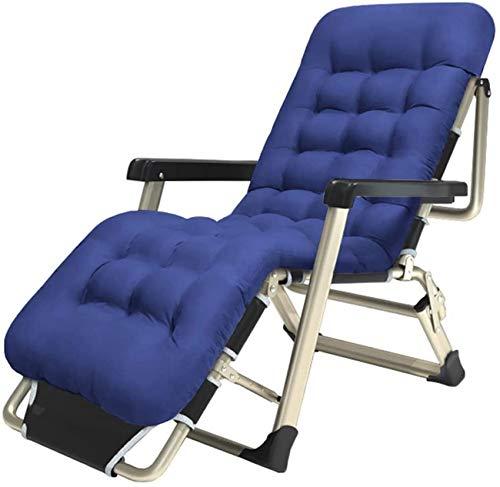 MFLASMF Productos para el hogar Sillones Plegables de césped S Tumbona Sillón reclinable Silla Relajante de Ocio para Playa Patio Jardín Camping al Aire Libre 250 kg Capacidad de Peso - AZ