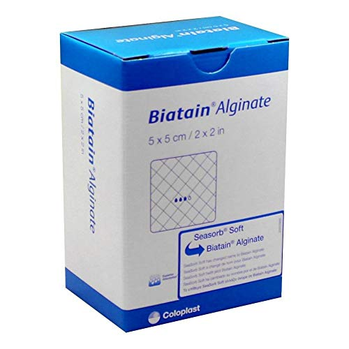BIATAIN Alginate Kompressen 5x5 cm 30 St