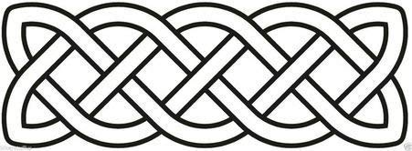 MFX Design Celtic Symbol Sign Ancient Celts Iron Age Bumper Sticker Decal Tool Box Sticker Decal Vinyl - Made in USA 5 in. x 2 in.