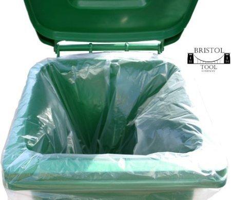 300 Clair Sacs Poubelle Sacs Poubelle forte 140 G Rubbish Scrap//déchets 16 x 29 x 38