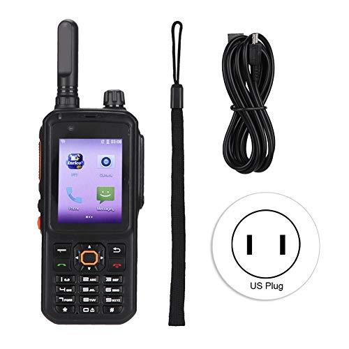 BTIHCEUOT T320 Radio bidireccional de Largo Alcance Recargable 4G / Red WiFi Teléfono móvil Intercom Walkie Talkie(Enchufe de EE.UU.)