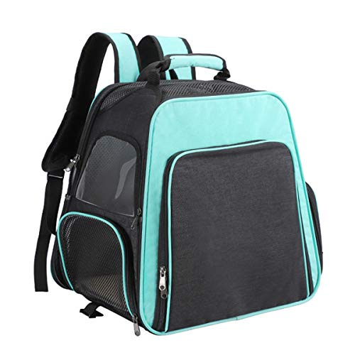 WAHHW Backpack And Handheld Pet Trolley Case, Portable Folding Travel Cat Bag, with Expandable Space, Environmental Protection And Health, Suitable for Pets under 10Kg