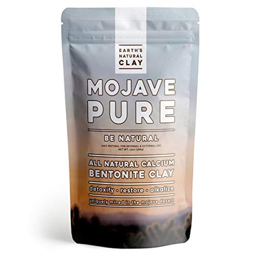 Calcium Bentonite Clay Powder | for Internal and External Use | 13oz | Pharmaceutical Grade Montmorillonite | by Earth