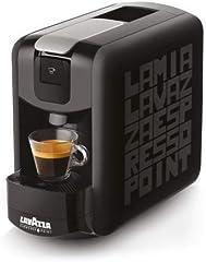 Lavazza - Máquina de café Lavazza, compatible con Espresso Point Lavazza EP Mini Black - Negra