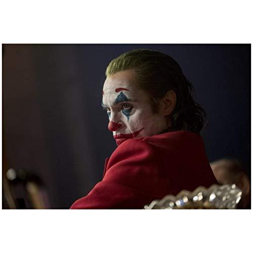 Carteles e impresiones artísticos de retratos de películas modernas Arte de pared Joker Joaquin Phoenix Imágenes para la decoración del hogar de la sala de estar-24x36 pulgadas Sin marco