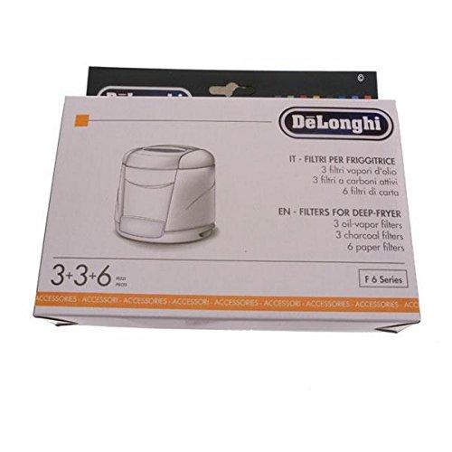 FILTRE FRITEUSE KIT X3 POUR PETIT ELECTROMENAGER DELONGHI - 5525102200