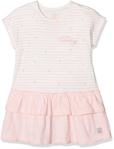 Sanetta Baby-Mädchen 114229 Kleid, Beige (Ivory 1829), 86