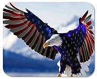 ゲーミングマウスパッドアメリカ国旗カスタマイズされた長方形の滑り止めラバーマウスパッドゲーミングマウスパッド