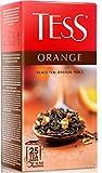 [2 PACK] Black tea TESS With orange peel FLAVOUR Beverages Grocery Gourmet Food [25 tea bags]