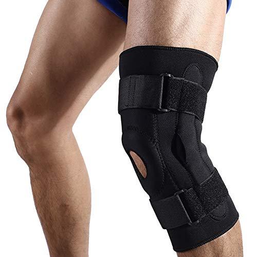 JPALQ Anticolisión Ajustable Rodilla Rodilleras Médico Baloncesto Health Care Ayuda del Apoyo del Abrigo Protector de la lesión ortopédica