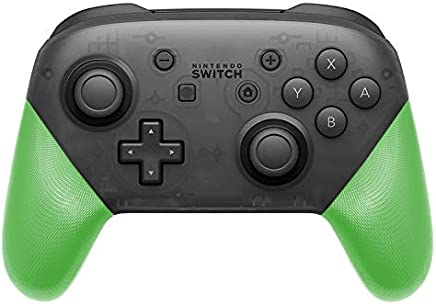 DIY Replacement Grip Shell for Nintendo Switch Pro Controller, Colorful Anti-Slip Hand Grip Shell Cover for Nintendo Switch Pro Controller with a Screwdriver (Green)