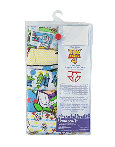 Disney Boys' Toy Story Brief Multipack