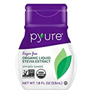 Pyure Organic Liquid Stevia Extract Sweetener, Simply Sweet, 1.8 Fl Oz