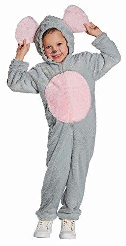 Disfraz infantil de ratn, mono para nia y nio