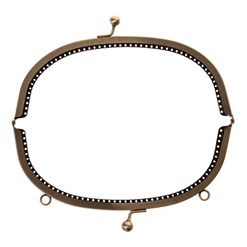 Outil Porte-Monnaie Cadre Métallique Sac Fermoir DIY Cadeau - 20cm